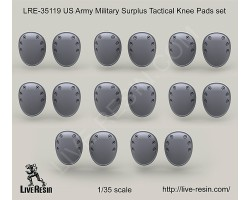 LRE35119 US Army Military Surplus Tactical Knee Pads set