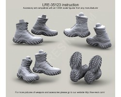 LRE35123 Oakley Sabot High Assault Boots