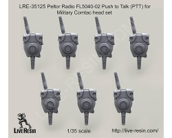 LRE35125 Peltor Radio FL5040-02 Push to Talk (PTT) for Military Comtac head set
