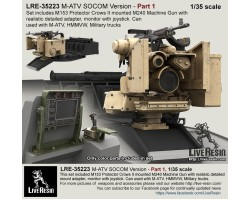 LRE35223 M-ATV SOCOM Version upgrade. Part 1 - M153 Protector Crows II with M240.