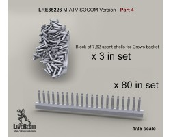 LRE35226 M-ATV SOCOM Version upgrade. Part 4 - Spent shells poured on Crows II basket and scattered