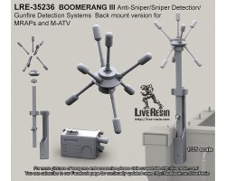 LRE35236 BOOMERANG III Anti-Sniper/Sniper Detection/Gunfire Detection Systems back mount version