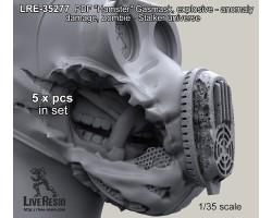 "LRE35277 PBF ""Hamster"" Gasmask, anomaly - explosive damage, Zombie - Stalker universe"