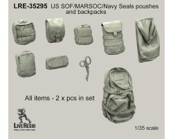 LRE35295 US SOF/MARSOC/Navy Seals pouches and backpacks