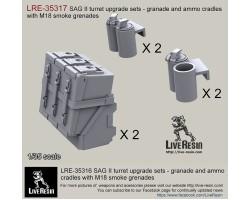 LRE35317 SAG turret type II upgrade sets