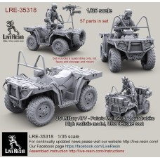 LRE35318 US Military ATV - Polaris MV850 ATV Quad Bike