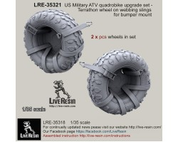 LRE35321 US Military ATV quad bike upgrade set