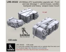 LRE35322 US Military ATV quad bike upgrade set