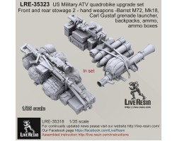 LRE35323 US Military ATV quad bike upgrade set