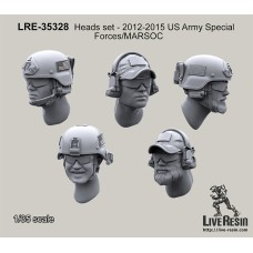 LRE35328 Heads 2013 US Army Special Forces/MARSOC