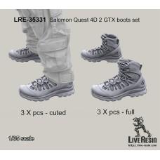 LRE35331 Salomon Quest 4D 2 GTX boots set