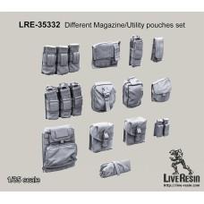 LRE35332 Magazine/Utility pouches set