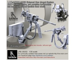 LRE35333 HH-60G External Gun Mount System GAU-18 M2 version