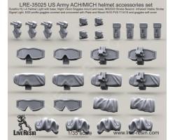LRE35025 US Army ACH/MICH helmet accessories set