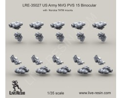 LRE35027 US Army NVG PVS 15 Binocular with Norotos TATM mounts