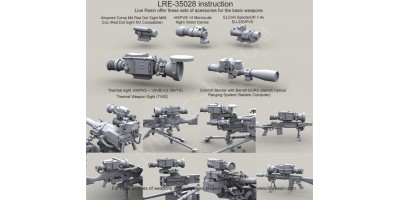 Live-Resin 1/35th Accessories
