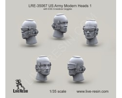 LRE35067 US Army Modern Heads