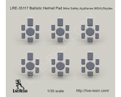 LRE35117 Ballistic Helmet Pad Mine Safety Appliance