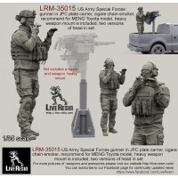 LRM35015 US Army Special Forces gunner in JPC plate carrier