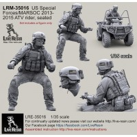 LRM35016 US Special Forces/MARSOC ATV Rider 2013-2015 Seated