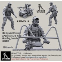 LRM35019 US Special Forces/MARSOC ATV Rider, standing, bearded version