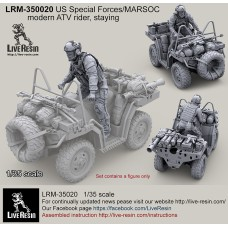LRM35020 US Special Forces modern ATV Rider, standing