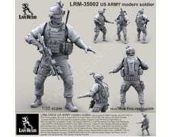 LRM35002 US ARMY Modern Soldier