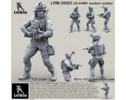 LRM35003 US ARMY Modern Soldier