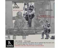 LRM35029 HH-60G Pave Hawk helicopter SOF personnel figure 2
