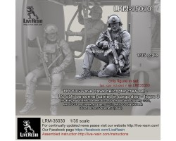 LRM35030 HH-60G Pave Hawk helicopter SOF personnel figure 3
