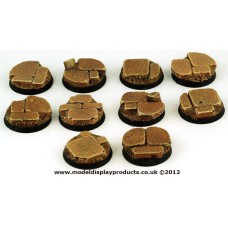 25mm Sci-fi Stone Chapel Ruins Bases