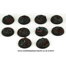 25mm Sci-fi Industrial Rubble Bases