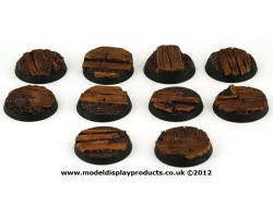 25mm Sci-fi Trench Bases