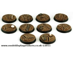 25mm Sci-fi Cracked Earth Bases
