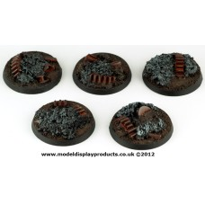 40mm Sci-fi Industrial Rubble Bases