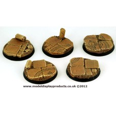 40mm Sci-fi Stone Chapel Ruins Bases