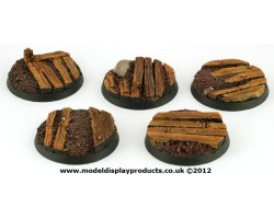 40mm Sci-fi Trench Bases
