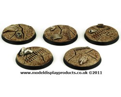 40mm Sci-fi Cracked Earth Bases
