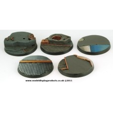 40mm Sci-fi Tech/Starship Deck Bases (Set B)