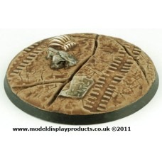 60mm Sci-fi Cracked Earth Base