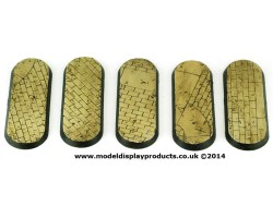 72mm x 25mm Regal Stone Themed Bike Bases