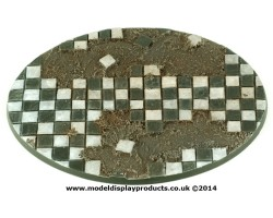 120mm Oval Tile Themed Base
