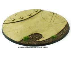 120mm Oval Alien Terrain Base