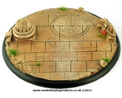 120mm Ruined Chapel Base