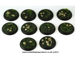 30mm Ancient Battlefield Bases