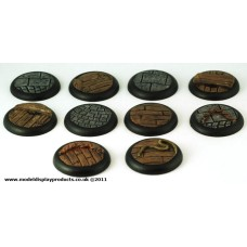 30mm Dock/Quayside Round Lip Bases
