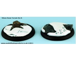 50mm Snow Terrain (Set A)