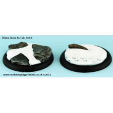 50mm Snow Terrain (Set B)