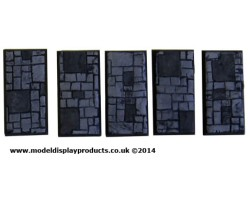 25mm x 50mm Oblong/Fantasy Slate/Paving Terrain Bases