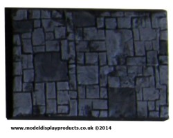 50mm x 75mm Oblong Slate/Paving Terrain Base